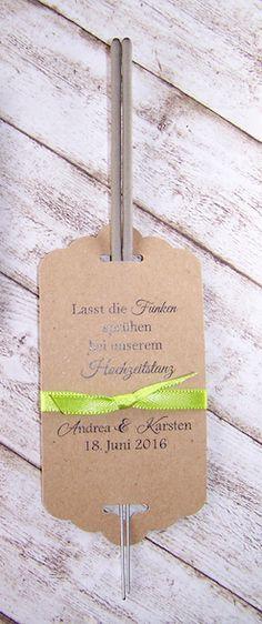 Wunderkerzen Hochzeitstanz Hochzeit Vintage