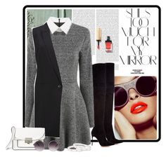 """""""Без названия #3997"""" by maria-kononets ❤ liked on Polyvore featuring Oris, Rika, Gianvito Rossi, Gestuz, Marc by Marc Jacobs, Quay, Cartier and Yves Saint Laurent"""