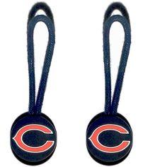 Chicago Bears Zipper Pull (2-Pack)
