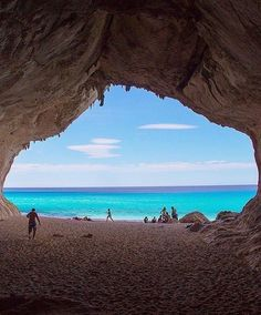 Cala Luna Beach, Sardinia, Italy - http://specialplaces.info/cala-luna-beach-sardinia-italy/ Follow for more special places !