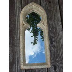 Moorish Resin Stone Garden Mirror (Small Gothic) | Garden Mirrors. Outdoor Mirrors & Illusion Mirrors | Products