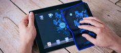 Jonodesign - Agrahove by PeachBeach - 15 x 20 cm microfiber tablet cloth + HD Wallpaper for smartphone, tablet & desktop