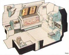 Alien: Nostromo Medical Bay / Ron Cobb