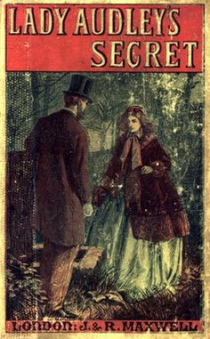 'Lady Audley's Secret' by Mary Elizabeth Braddon- I recently finished this after having to reissue it several times - it truly was a gripping read! Read my review of it here: http://violetsdaisies.blogspot.co.nz/2012/10/book-review-lady-audleys-secret-by-mary.html