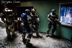New Alexandria 7 #HaloReach #Halo #Spartan #Noble #Team #Action #Figure #HDR