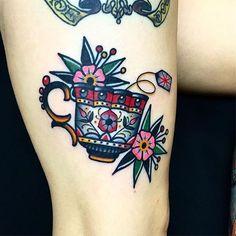 Super Ideas Tattoo Old School Leg Sailor Jerry Finger Tattoos, Leg Tattoos, Body Art Tattoos, Sleeve Tattoos, Tatoos, Octopus Tattoos, Time Tattoos, Trendy Tattoos, Tattoos For Women