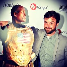 """This is a cut out of R.G. Miller. """"Double Digits"""" is a doc about this amazing man :') #film #celebrity"""