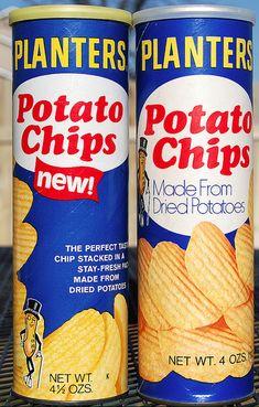 Planters potato chips (1970's)