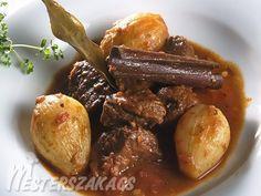 Sztifado, görög rostélyos recept