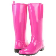 I really LOVE these Pink Rain Boots in a Floral Print. Stay cute ...