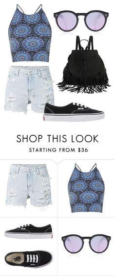 """Untitled #223"" by oznoskians ❤ liked on Polyvore featuring Ksubi, Motel, Vans and Illesteva"
