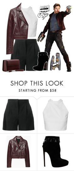 """""""Peter Quill"""" by rocklikeachampion ❤ liked on Polyvore featuring Alberta Ferretti, T By Alexander Wang, Alaïa, Lautēm and 97"""