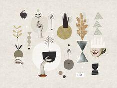 Etsy pattern - Mathilde Aubier ART + GRAPHIC DESIGN + ILLUSTRATION