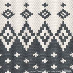 Light to dark colour switch Baby Boy Knitting Patterns, Fair Isle Knitting Patterns, Knitting Charts, Baby Knitting Patterns, Knitting Stitches, Knitting Designs, Knitting Socks, Hand Knitting, Crochet Patterns