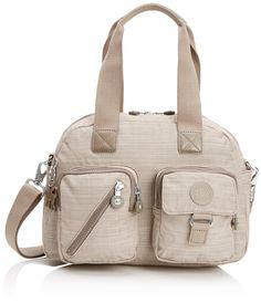 Kipling Defea, Women's Top-Handle Bag, Dazz Dark Beige, One Size