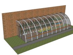 Attached hoop house at Babe and Sage Farm--could I do this by my ...