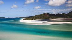 Whitehaven Island Australia, famous for its white sand. http://www.traveltrolley.co.uk/ offers cheap flights to  Australia. Find flights to Australia on Travel Trolley and get the best solutions for your travel needs