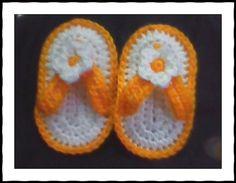 baby flip flops . . . :) baby-steps-stitches