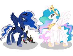 Princess Pony Pokemon Battle by horsefan999 on DeviantArt