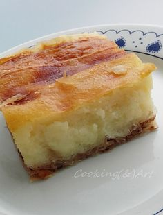 Cooking & Art by Marion: Παραδοσιακή γαλατόπιτα Βόλου / Traditional milk pie Brunch Recipes, Dessert Recipes, Recipes From Heaven, Sweet Desserts, Food And Drink, Milk, Food Heaven, Cooking, Breakfast