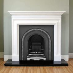 We offer a comprehensive selection of both full restored antique fireplaces and period reproduction fireplaces. All our fully restored antique fireplaces are available to view at or workshop showroom. Painted Fireplace Mantels, Paint Fireplace, Bedroom Fireplace, Farmhouse Fireplace, Fireplace Remodel, Living Room With Fireplace, Fireplace Surrounds, Renovate Fireplace, Victorian Fireplace Tiles
