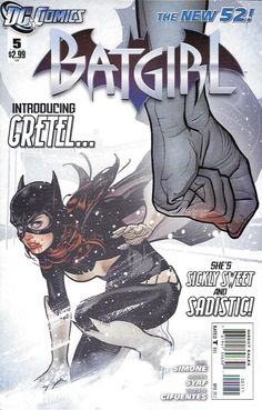 """"""" A Candy Full Of Spiders """" __ Written By Gail Simone , Art by Ardian Syaf and Vicente Cifuentes , Cover by Adam Hughes , The Story __Still reeling from the shocking return of a major figure with secr"""