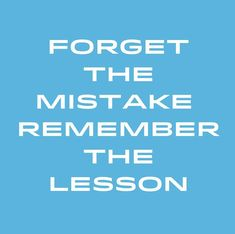 #lesson #mistakes #inspirational