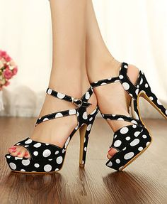Elegant Fashion Platforn Ultra High Heel Pumps ID 00043164 - Pumps : Paccony.com