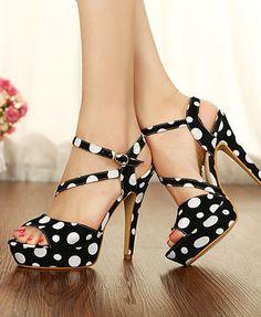Elegant Fashion Platforn Ultra High Heel Pumps ID 00043164 - Pumps : Paccony.com