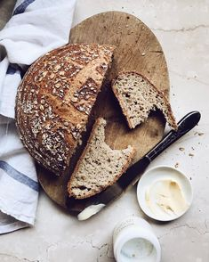 """3,186 Likes, 49 Comments - Aran Goyoaga (@cannellevanille) on Instagram: """"Gluten-free oat sourdough boule on repeat. @naomiannedevlin 's starter recipe and a bunch of…"""""""