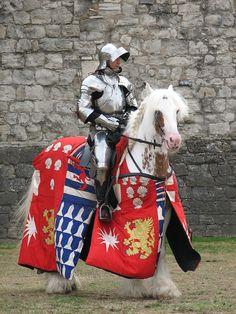 Tower of London joust, 2006. Photo by Harry Kent.