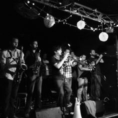 Hackney Colliery Band Live in Cardiff