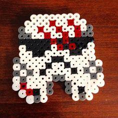 FN-2187 aka Finn - Star Wars: The Force Awakens perler beads by hans_labyrinth