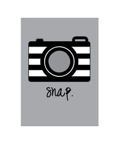 Free camera clipart - free printable 5x7 inch picture