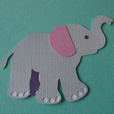 Get Silvered - Free Baby Elephant Silhouette Cut File