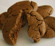 Long Johns Molasses Cookies - A Cape Breton Favourite- Serve with Steaming Hot Tea  Molasses has been the traditional sweetener in Cape Breton kitchens since the early days when trading ships sa...