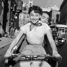 The Classic Movies Giving Us Style Inspiration Audrey Hepburn Movies, Albert Schweitzer, To Catch A Thief, Romantic Comedy Movies, Jean Luc Godard, Mother Jeans, Roman Holiday, Wide Leg Denim, Long Sleeve Henley