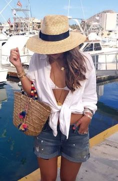 Outfits, cancun outfits, outfits for mexico, summer vacation outfits, casua Cancun Outfits, Mexico Vacation Outfits, Glamouröse Outfits, Summer Vacation Outfits, Outfits With Hats, Night Outfits, Fashion Outfits, Vacation Fashion, Honeymoon Outfits