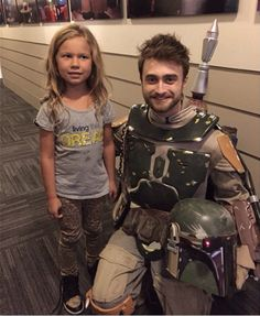 Daniel Radcliffe as Boba Fett. My mind is exploding.