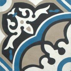 Moroccan Encaustic Cement Pattern 29b | £ 2.80 | Moroccan Encaustic Cement Pattern Tiles | Best Tile UK | Moroccan Tiles | Cement Tiles | Encaustic Tiles | Metro Subway Tiles | Terracotta Tiles | Victorian Tiles