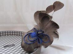 coiffe bleu 8 Hanukkah, Creations, Earrings, Couture, Headdress, Feather, Blue, Ear Rings, Stud Earrings