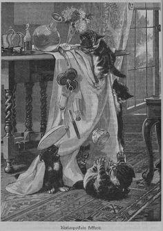 Kissanpoikain kekkerit, 15.02.1898 Lasten lehti no 2 - Aikakauslehdet - Digitoidut aineistot - Kansalliskirjasto