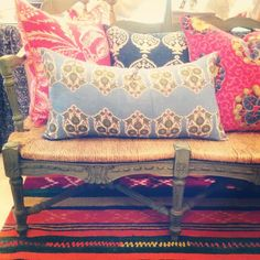 So many lovely new cushion in the store. #blackandspiro www.blackandspiro.com.au