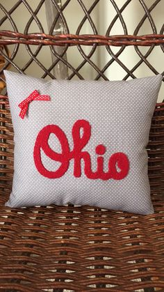 A personal favorite from my Etsy shop https://www.etsy.com/listing/265517482/ohio-state-pillow-college-student