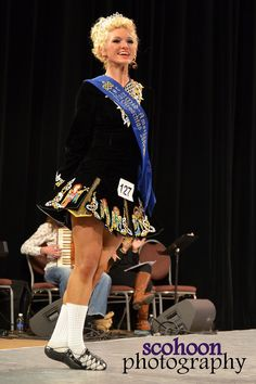 U16 champion, Brooke Howard of The Academy, performing in the Parade of Champions on the first day of dancing at the Mid America Oireachtas.   Photo  Shannon Cohoon
