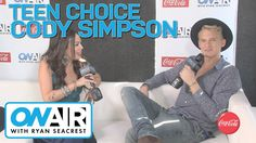 Cody Simpson at Teen Choice Awards 2014   On Air with Ryan Seacrest