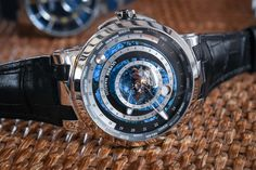 Ulysse Nardin Goes Back To Astronomical Watches with the Complex Moonstruck Worldtimer