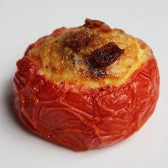 The Perfect Paleo Breakfast: Bacon-Tomato Frittatas