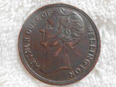 Arthur Duke of Wellington Copper Token Robert Bumpstead