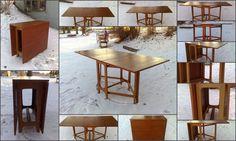 Bendt Winge Teak Kalffebord No. 4. Stemplet MADE IN NORWAY Kleppe Møbelfabrikk Norwegian Design Icon